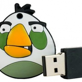 Флешка  16 GB DRIVE Angry Birds White
