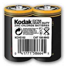 Батарейки Kodak R14 Heavy Duty