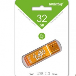 Флешка 32 GB Smart Buy Glossy series Orange