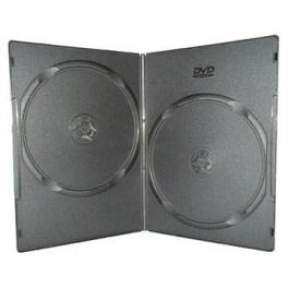 Футляр для 2 DVD Slim 7mm(глянец)