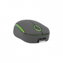 Компьютерная мышь Defender Discovery MS-630 USB Optical Black/Green 1000dpi (52631)