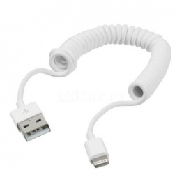 Кабель USB 2.0-Apple 8 pin Lightning Орбита BS-72 1м витой