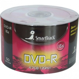 Диск SmartTrack DVD-R 4.7 GB 16x 50 шт
