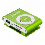 Плеер Perfeo VI-M001 Music Clip Titanium MP3 Green
