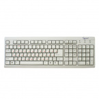 Клавиатура Gembird KB-8300-R PS/2 White