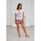 Пижама (футболка+шорты) в ассортименте