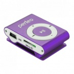 Плеер Perfeo VI-M001 Music Clip Titanium MP3 Purple