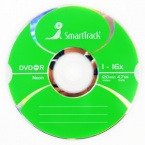 Диск SmartTrack DVD-R 4.7 GB 16x по 100