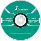 Диск SmartTrack DVD+R 4.7 GB 16x Neon Color 100 шт