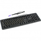 Клавиатура Gembird KB-8320-BL PS/2 Black
