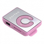 Плеер Perfeo VI-M003 Music Clip Color MP3 Pink