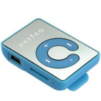 Плеер Perfeo VI-M003 Music Clip Color MP3 Blue